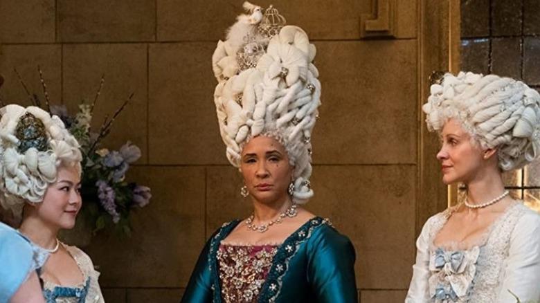 Queen Charlotte staring on Bridgerton