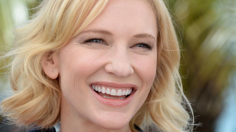 Actor Cate Blanchett smiling