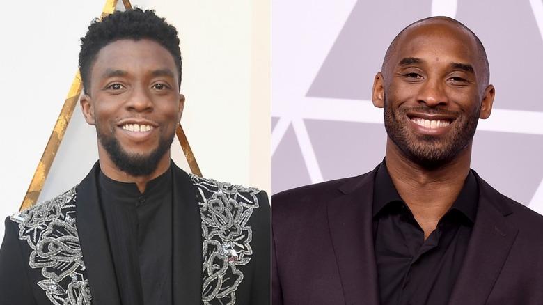 Chadwick Boseman and Kobe Bryant