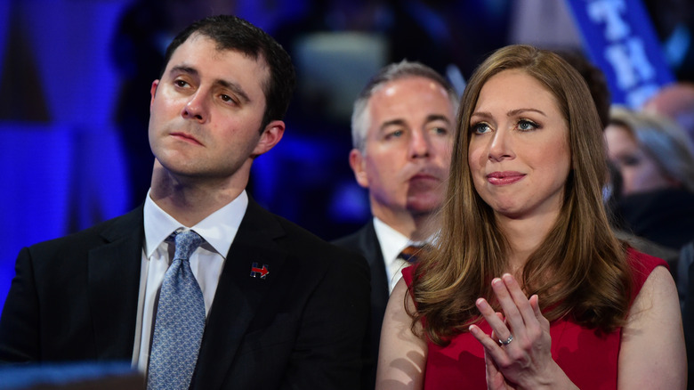 Chelsea Clinton and her husband, Marc Mezvinsky