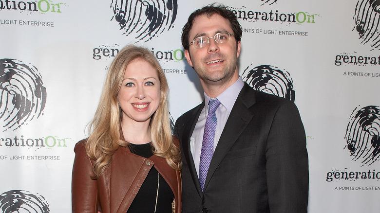 Chelsea Clinton and Mark Mezvinsky