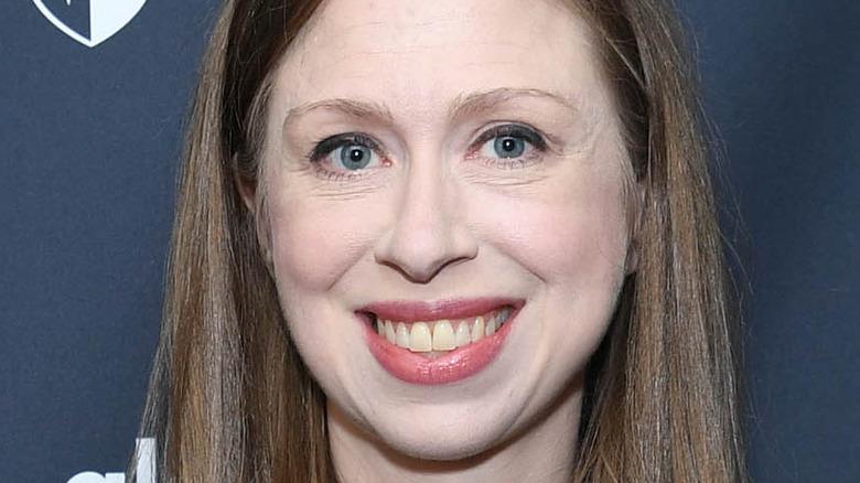Chelsea Clinton smiling