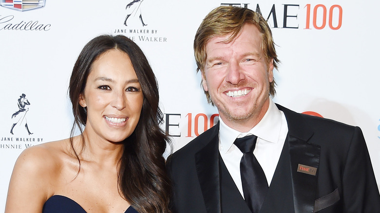 Joanna and Chip Gaines in formal attire