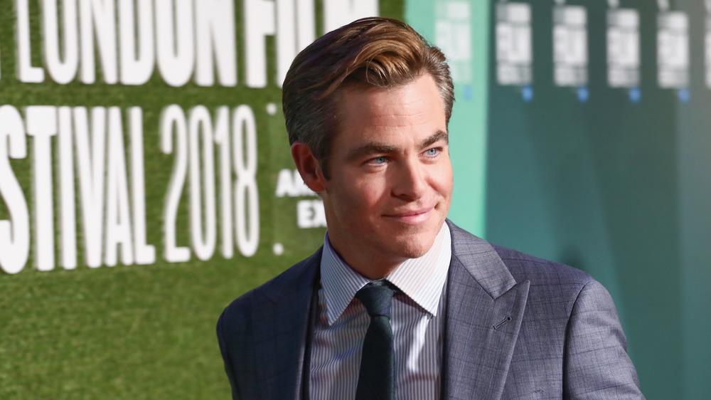 Chris Pine attending the London Film Festival