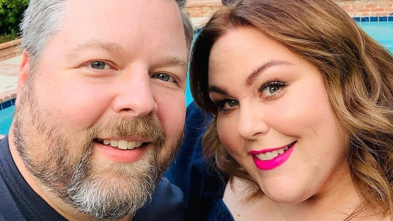 Chrissy Metz and boyfriend Bradley Collins