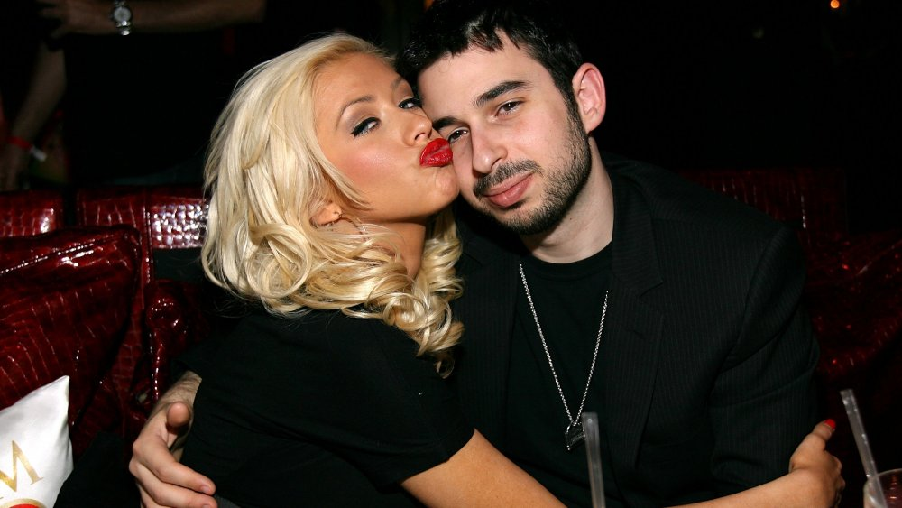 Christina Aguilera and her first husband, Jordan Bratman