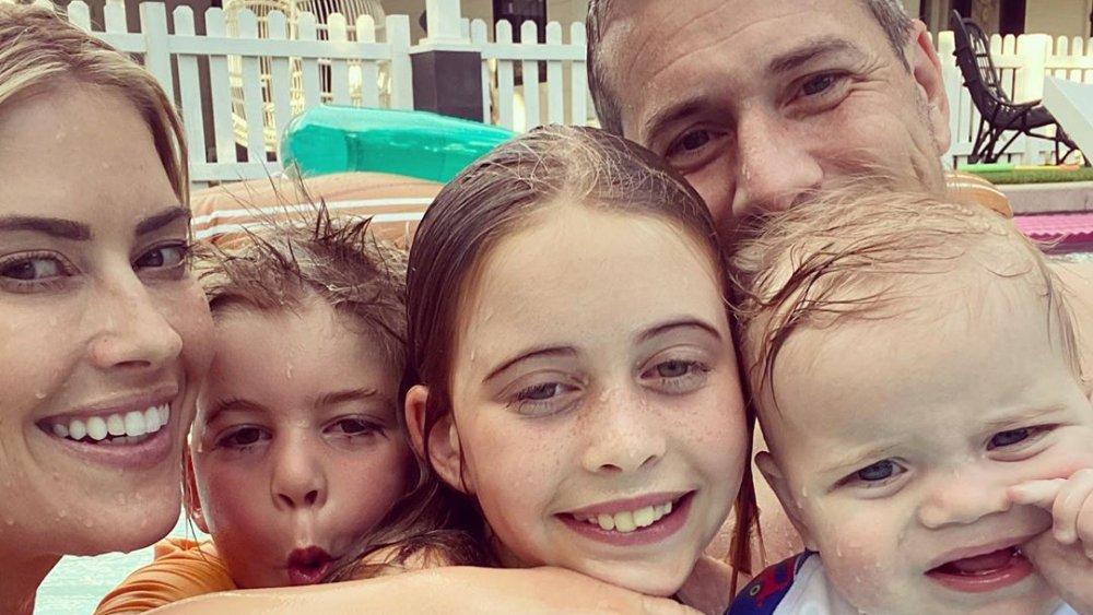Christina Anstead and her kids