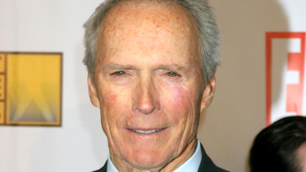 Clint Eastwood smiling