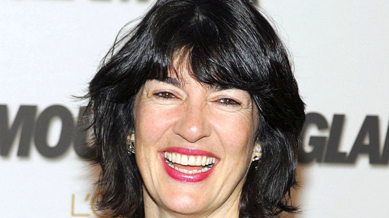 Christiane Amanpour on a Glamour red carpet