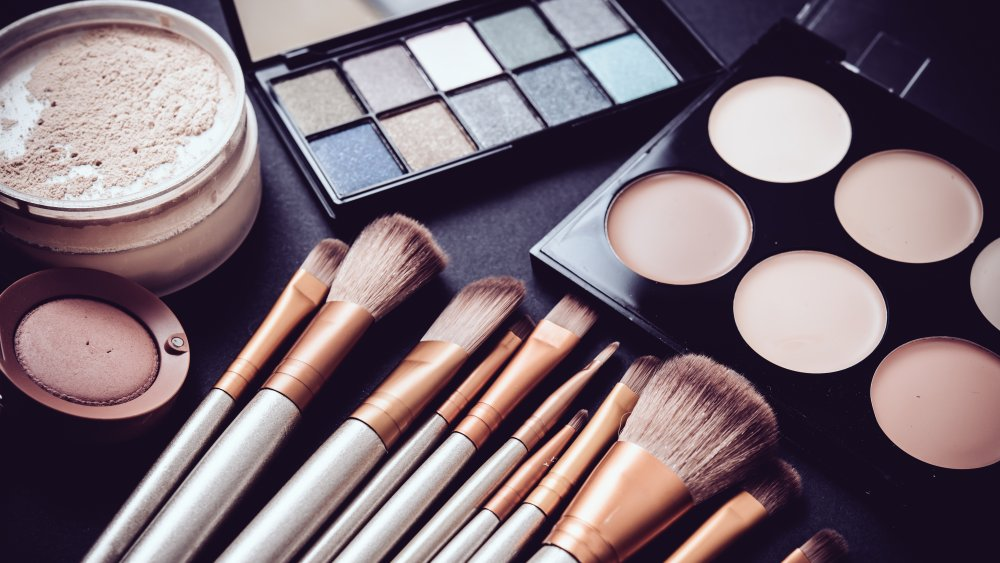 collection of makeup