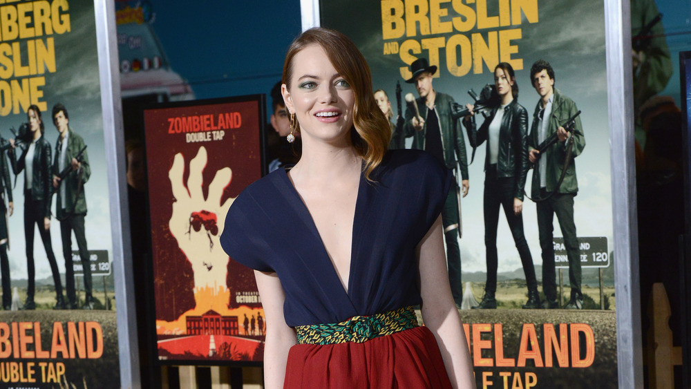 Emma Stone at the Zombieland: Double Tap premiere