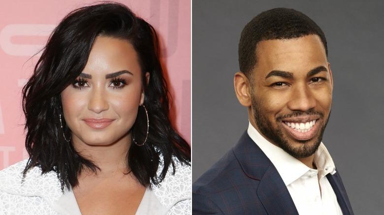 Demi Lovato and The Bachelorette star Mike Johnson