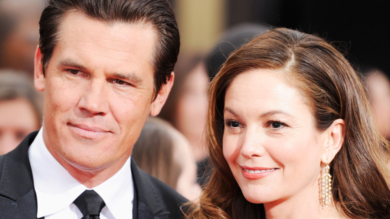 Actors Josh Brolin and Diane Lane arrive at the 69th Annual Golden Globe Awards held at the Beverly Hilton