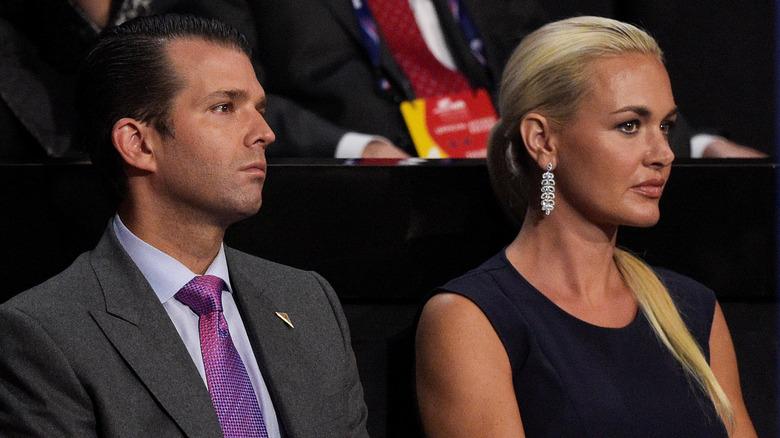 Donald Trump Jr and Vanessa Trump at event