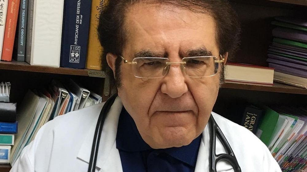 Dr. Younan Nowazaradan in his office