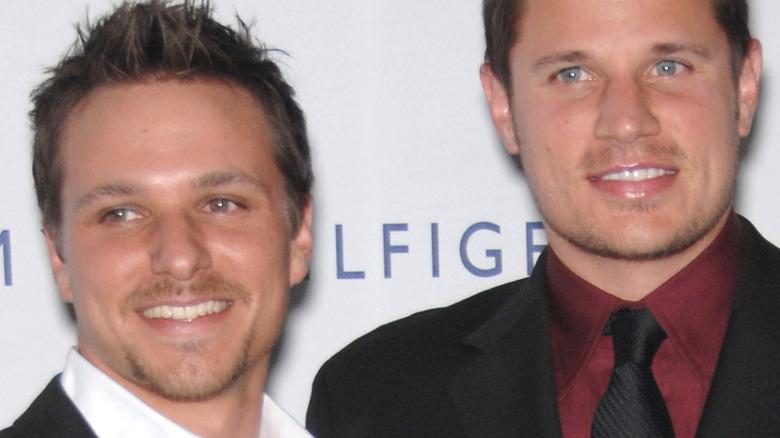 Drew Lachey and Nick Lachey