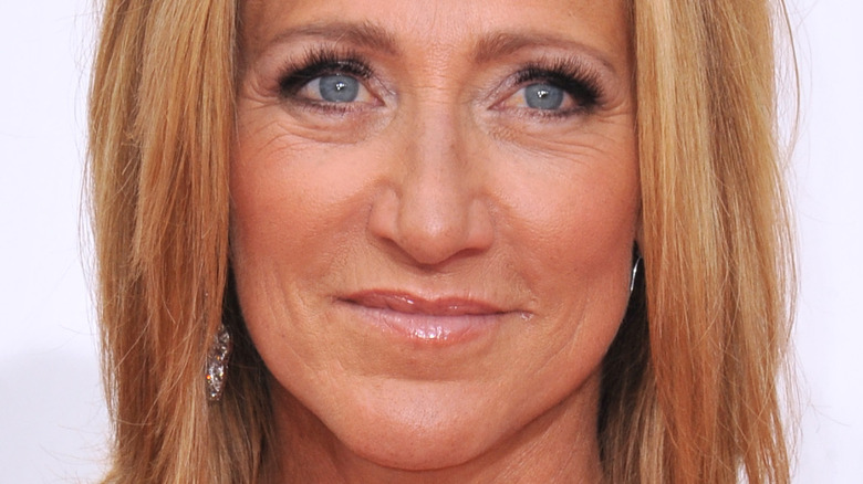 Edie Falco at the Emmy Awards