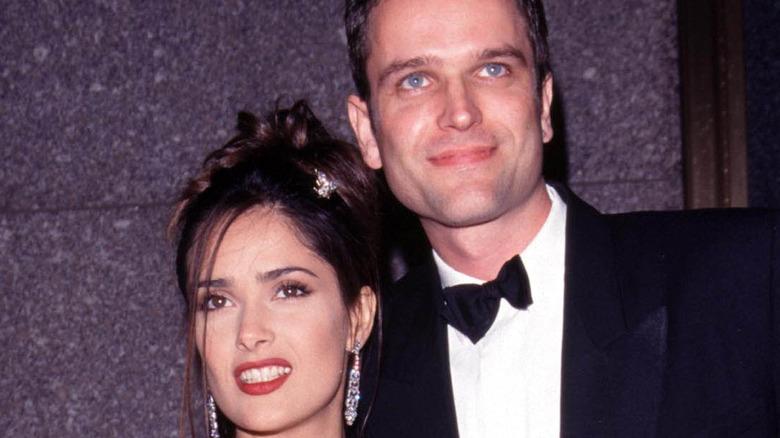 Salma Hayek and ex boyfriend Edward Atterton