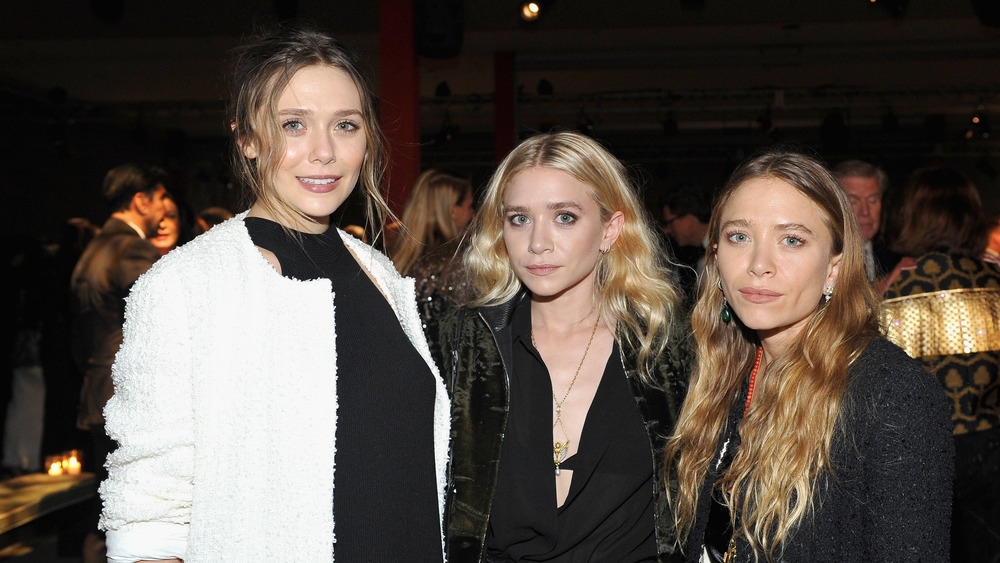 Mary Kate, Ashley, Elizabeth Olsen