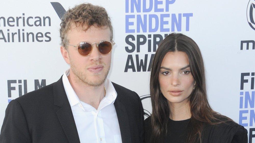 Emily Ratajkowski and her husband, Sebastian Bear-McClard
