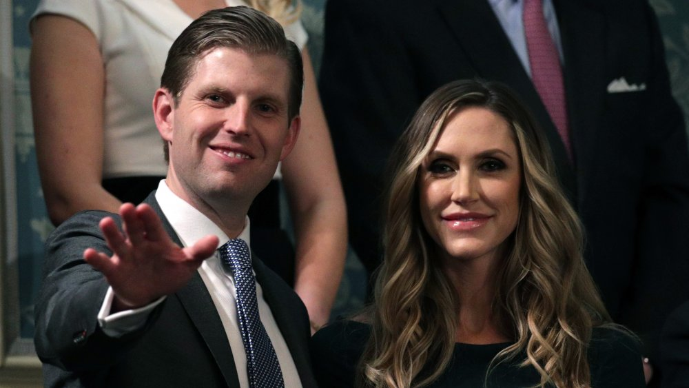 Eric and Lara Trump