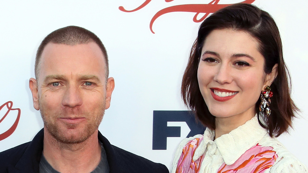 Ewan McGregor and Mary Elizabeth Winstead on the red carpet