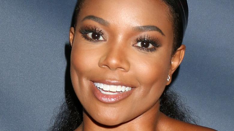 A smiling Gabrielle Union