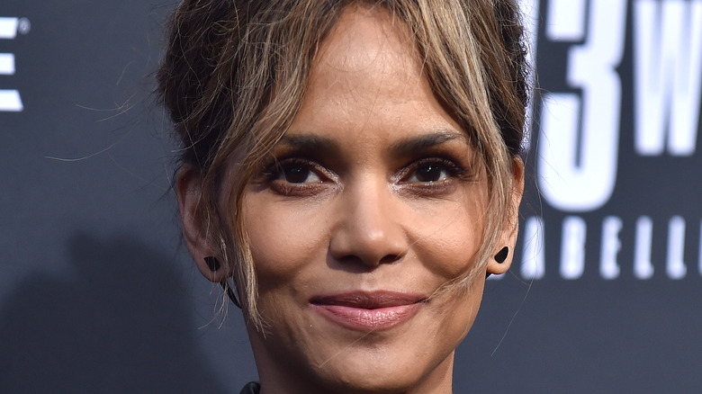 Halle Berry at John Wick: Chapter 3 movie premiere