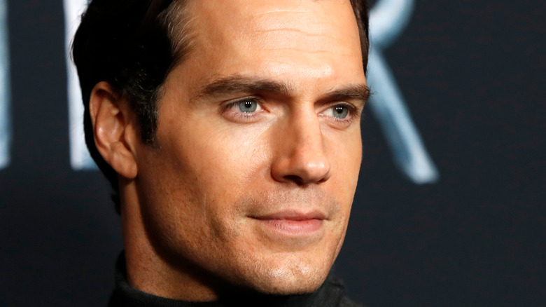 Henry Cavill appearing at event
