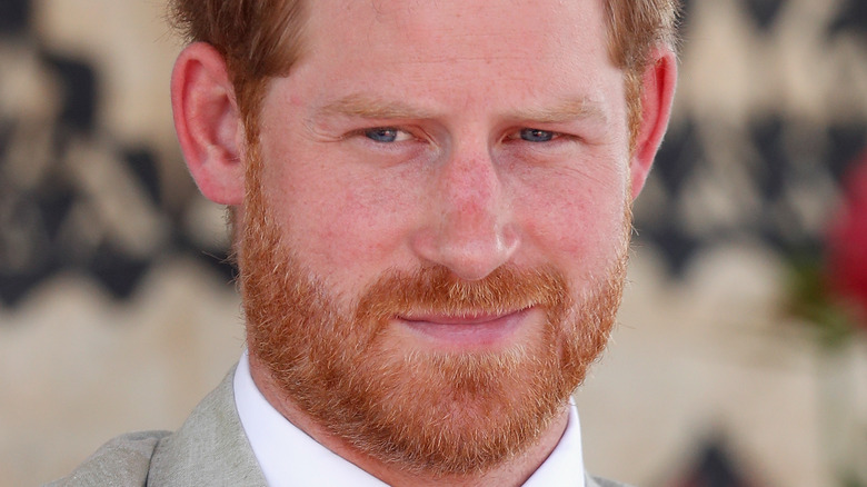 Princes Harry at an event