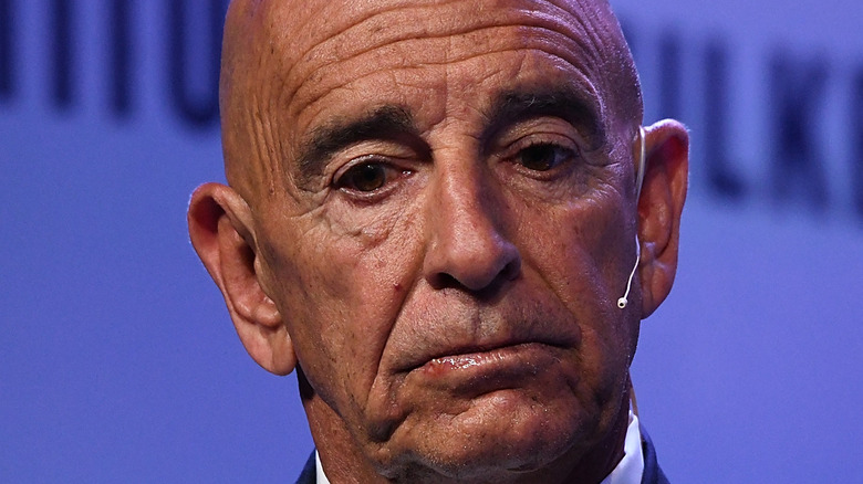 Tom Barrack speaking at a conference in 2019