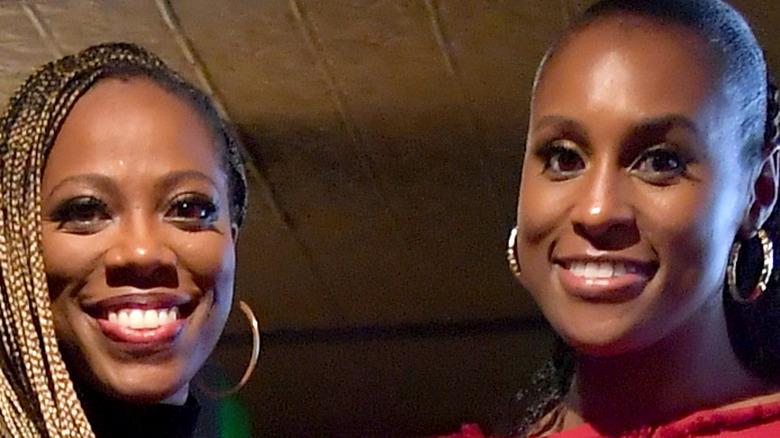 """Issa Rae and Yvonne Orji promote """"Insecure"""" together"""