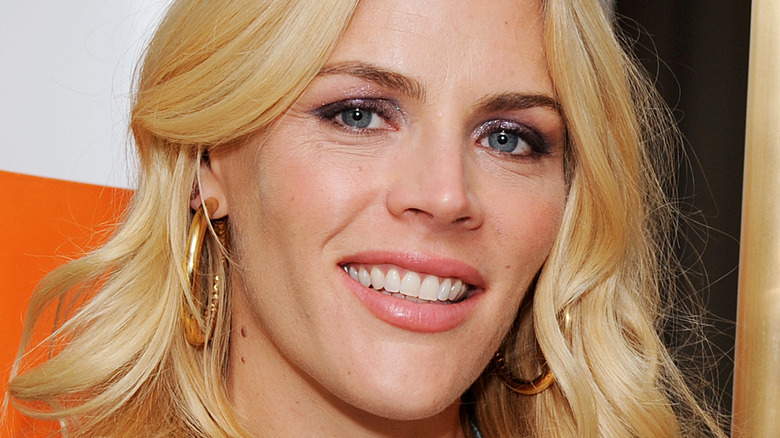 Busy Philipps smiling