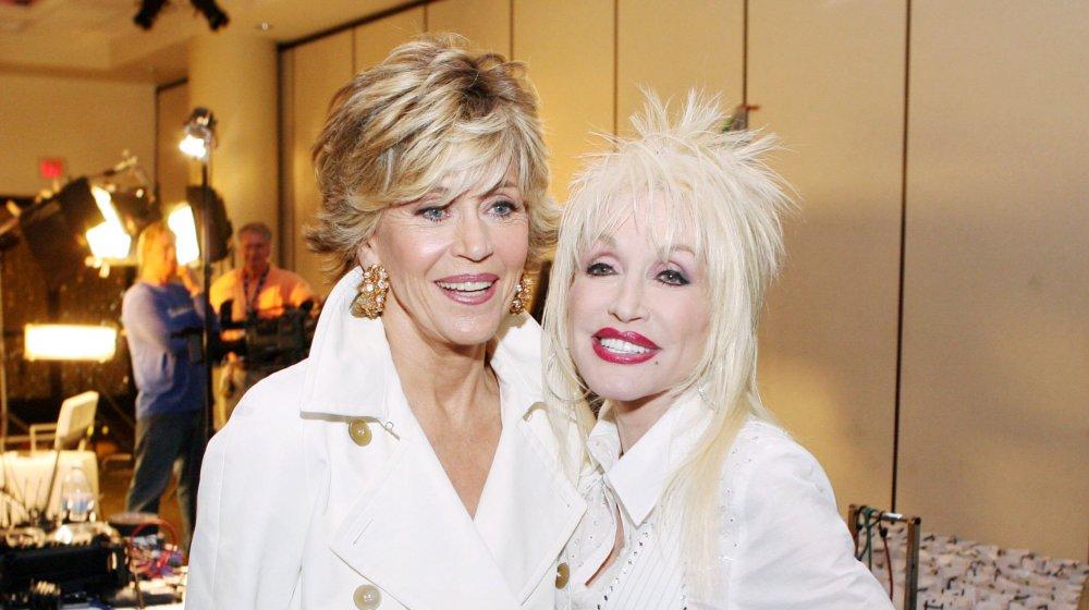 Jane Fonda and Dolly Parton