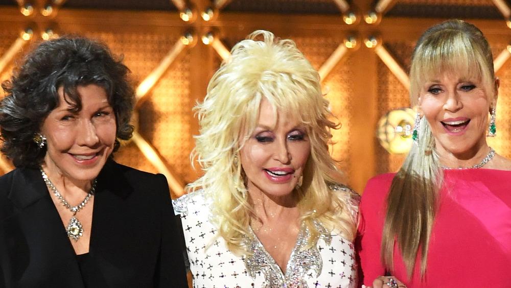 Tomlin, Parton, and Fonda