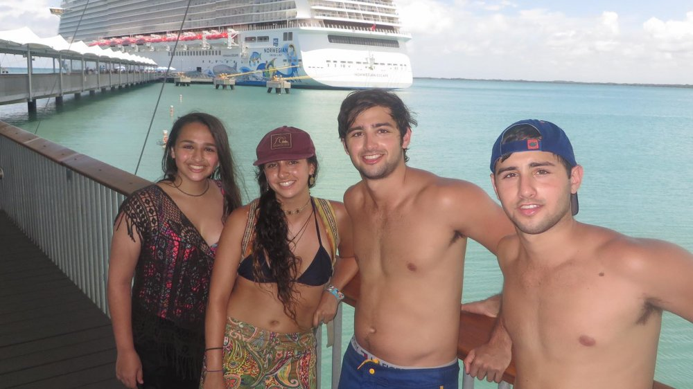Jazz Jennings and her siblings Ari, Griffen and Sander