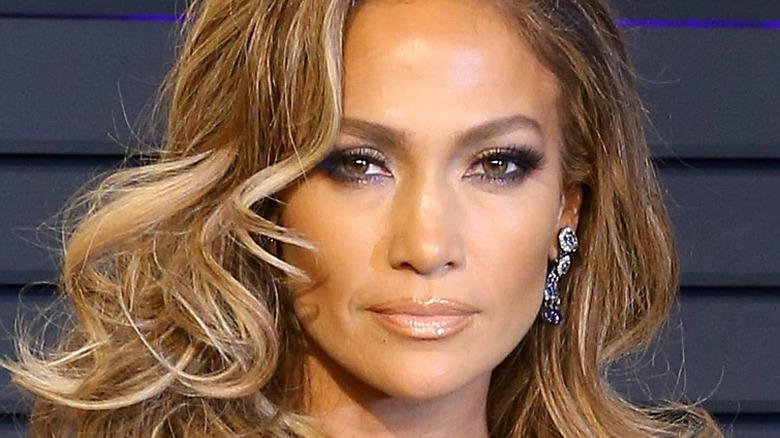 Jennifer Lopez attending an event