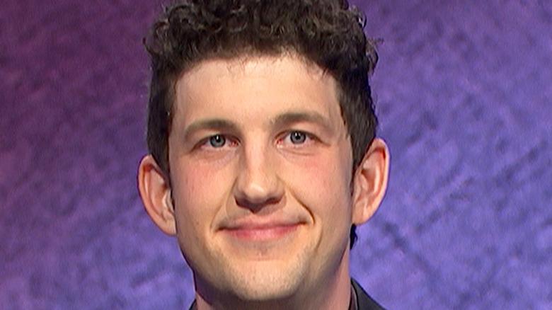 "Contestant Matt Amodio on ""Jeopardy!"""