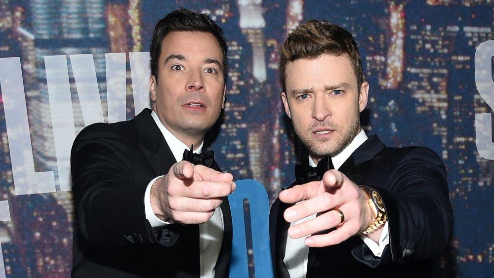 Jimmy Fallon and Justin Timberlake at SNL 40