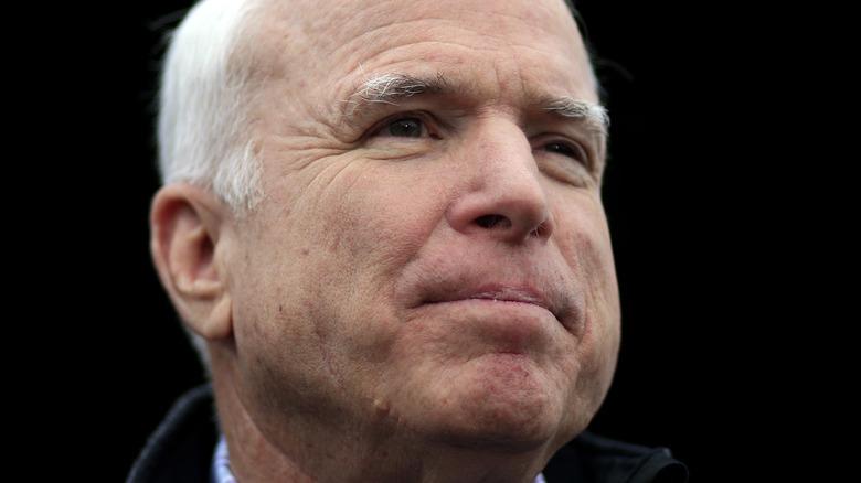 Close up of John McCain