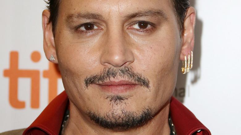 Close up photo of Johnny Depp