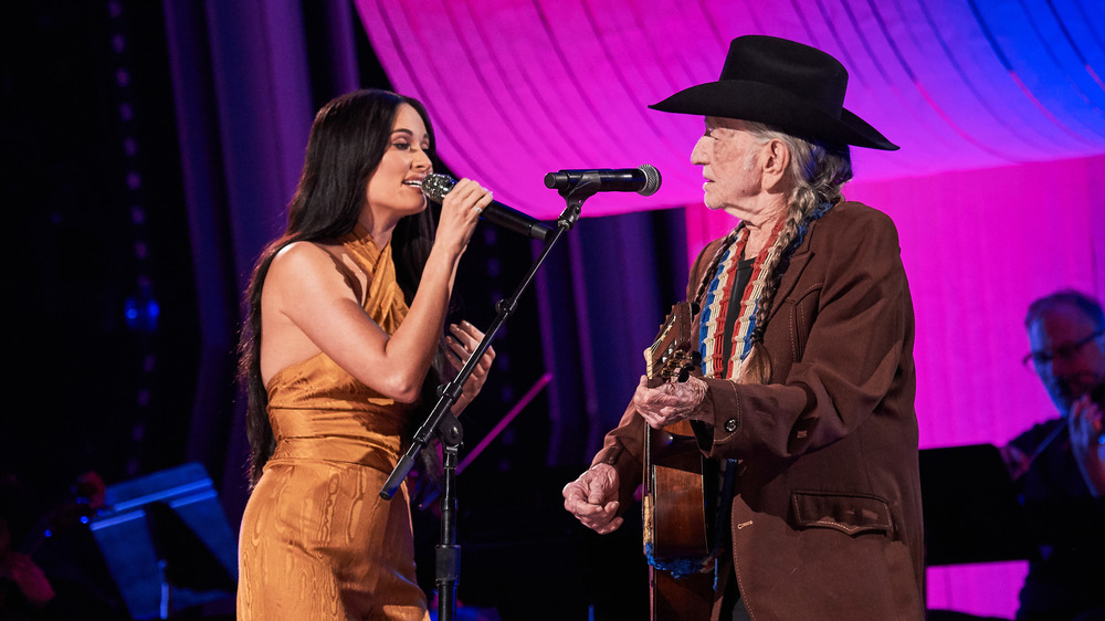 Willie Nelson and Kacey Musgraves