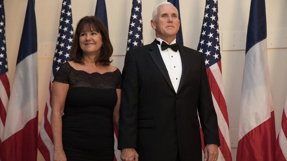 Karen and Mike Pence