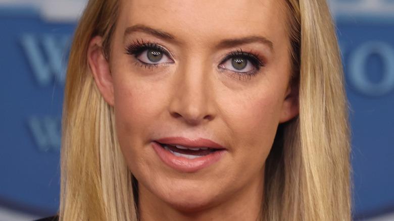 Kayleigh McEnany closeup