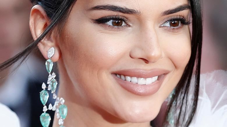 Kendall Jenner smiles