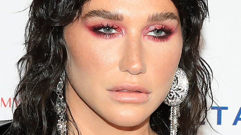 Kesha at event