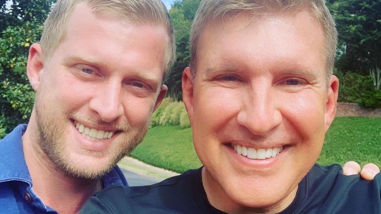 Kyle Chrisley, Todd Chrisley smiling