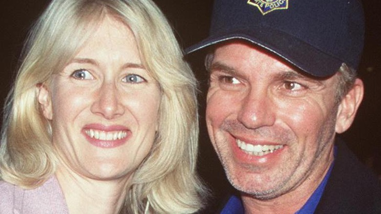 Laura Dern And Billy Bob Thornton Attend, January 20 1999