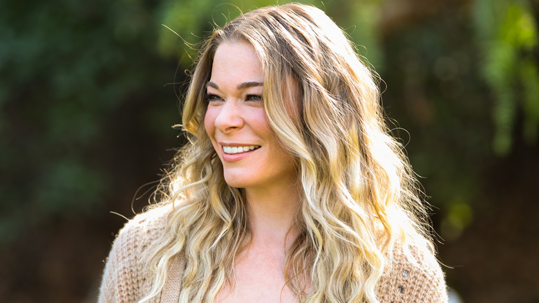 LeAnn Rimes smiling at the camera