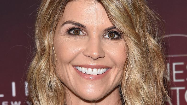Lori Loughlin smiles